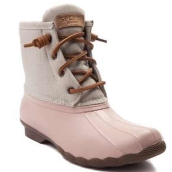 2f0dbc08d4b6 sperry boots pink
